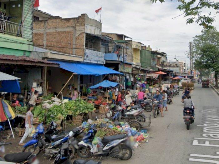 Satu Blok Pajak Melati Medan Dikosongkan Usai Seorang Pedagang Positif Covid-19 Meninggal