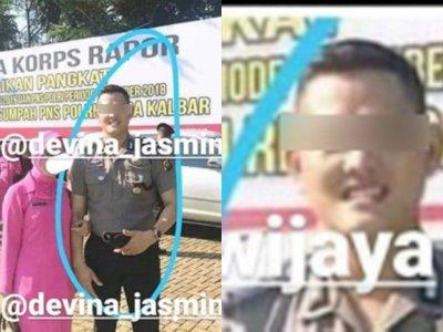Sosok Brigadir DY, Polisi Pontianak yang Perkosa Gadis SMP, Diduga Sudah Beristri