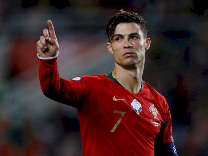 Dihormati Sebagai Alumni, Nama Cristiano Ronaldo Disematkan dalam Akademi Sporting CP
