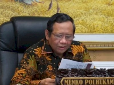 Menko Polhukam Mahfud MD: Pengumuman Paslon Pilkada Disampaikan Melalui Website