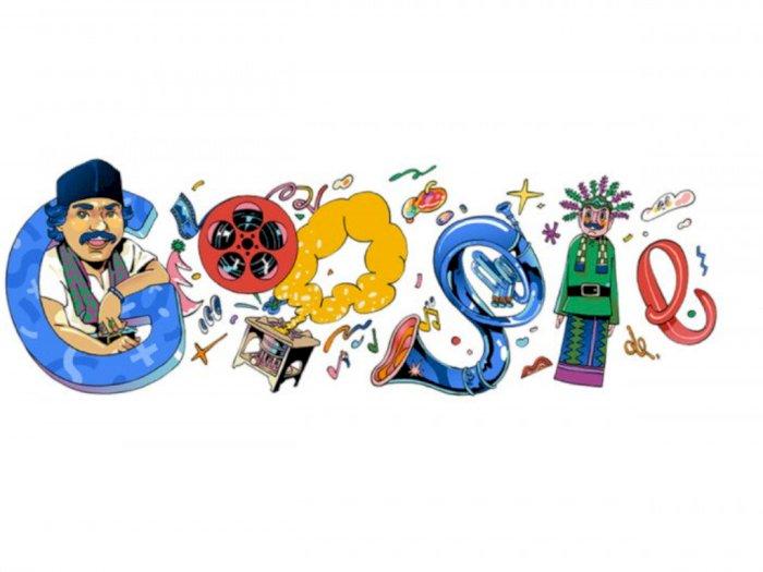 Hari Ini Google Doodle Tampilkan Sosok Benyamin Sueb