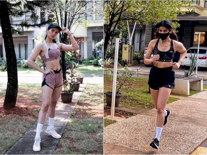 Otot Lengan Sabrina Chairunnisa Bikin Netizen Salfok: Ototnya Nggak Nahan