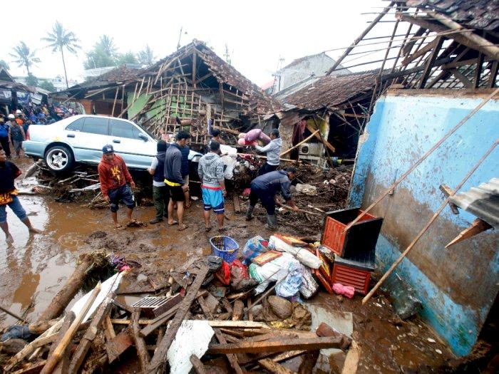 Korban Banjir Bandang Sukabumi: 3 Hanyut, 20 Terluka dan 210 Keluarga Mengungsi
