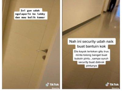 Jeritan Wanita Minta Dibukain Pintu di Sebuah Apartemen Bikin Heboh, Apa yang Terjadi?