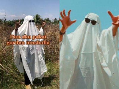 Gak Sengaja Pakai Kain Kafan untuk Photoshoot, Dua Pemuda ini Alami Hal Mengerikan