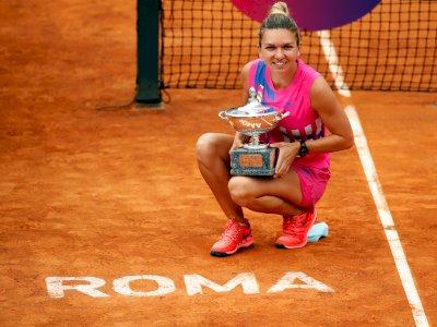 FOTO: Simona Halep Menjuarai Italian Open 2020