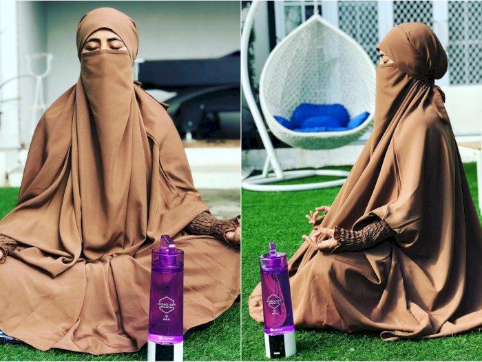 Disangka Lagi Meditasi Hingga Disindir Langgar Ajaran Islam, Ini Balasan Umi Pipik