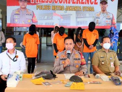 Beroperasi saat PSBB, Tempat Pijat Plus-plus di Jakarta Utara Digerebek Polisi