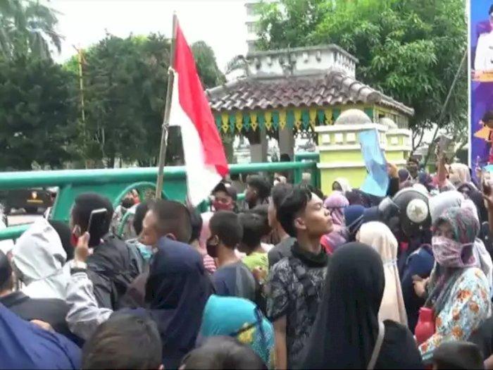 Aliansi Masyarakat Medan Utara Demo di Kantor Walikota Medan, Ini Tuntutannya