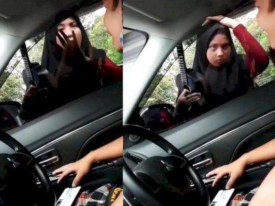 Viral Gadis Pengamen Cantik di Pasar Rebo, Tak Dikasih Duit Malah Pukul Kaca Mobil