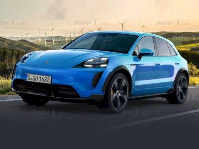 Seperti Ini Konsep Tampilan dari Mobil Porsche Macan Electric 2022 Terbaru!