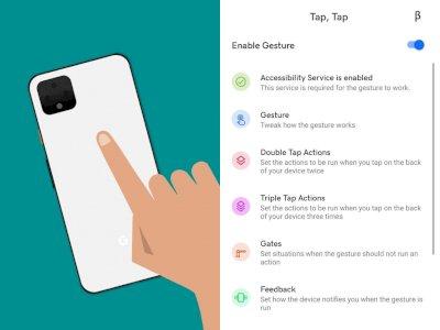 Aplikasi Tap, Tap Bisa Hadirkan Gestur Ketukan dari Belakang Smartphone Kamu!