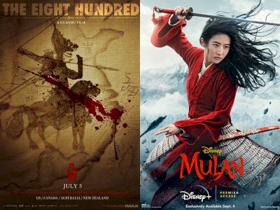 "Film ""The Eight Hundred"" Kalahkan ""Mulan"" di Box Office"