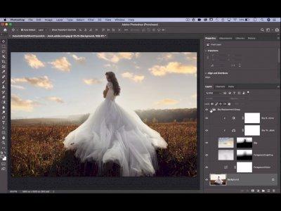 Adobe Pamerkan Fitur Sky Replacement di Photoshop Versi Terbaru!