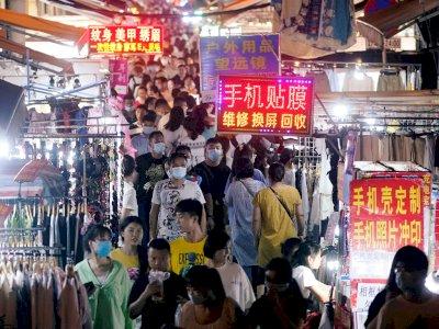 33 Hari Tanpa Penambahan Kasus Covid-19, Aktivitas Masyarakat Tiongkok Kembali Normal