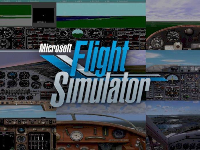 Melihat Sejarah Perkembangan Microsoft Flight Simulator Selama 40 Tahun
