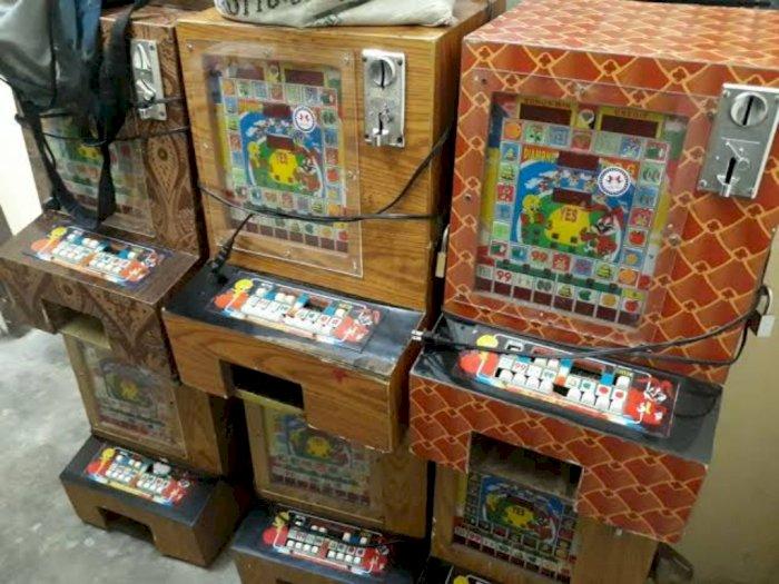 Polres Simalungun Amankan 25 Mesin Jackpot sejak Januari
