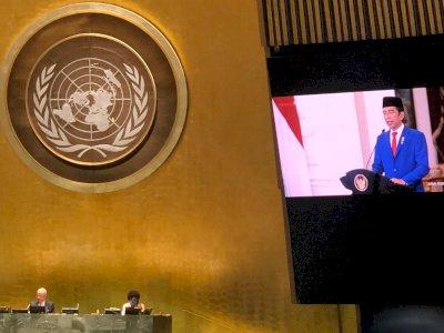 Presiden Jokowi Minta PBB Berbenah Diri