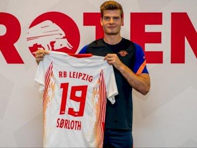 Alexander Sorloth Resmi Gabung ke RB Leipzig dengan Transfer € 20 Juta