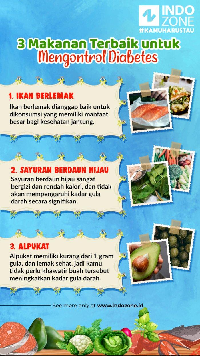 3 Makanan Terbaik untuk Mengontrol Diabetes