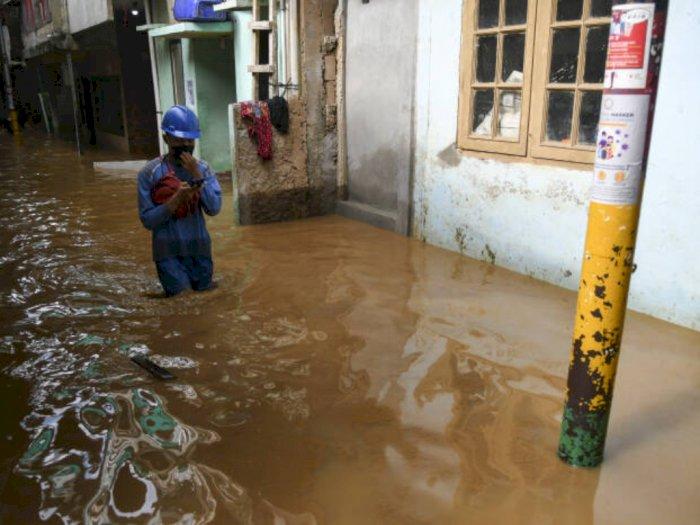BPBD DKI Sebut Masih Ada 5 RT Banjir Pagi Ini, Semuanya di Jakarta Barat