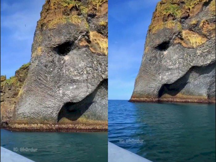 Elephant Rock Tempat Wisata yang mirip dengan Gajah, Netizen: Mirip Pulau Zou One Piece