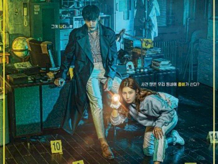 """Sinopsis Drama Korea """"Zombie Detective (2020)"""" - Kerja Sama Zombie dan Seorang Penulis"""