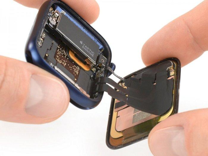 Melihat Komponen Bagian Dalam dari Apple Watch Series 6 Terbaru