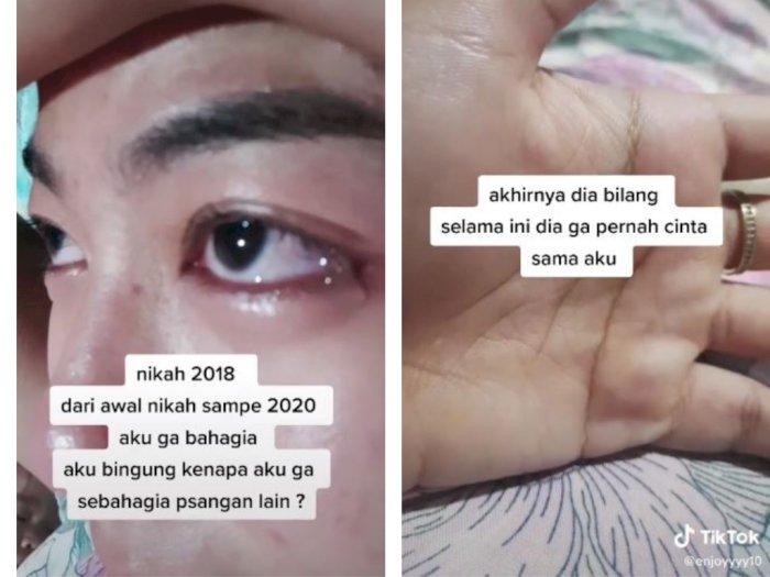 Nikah Sejak 2018, Wanita Ini Tak Dicintai Suaminya, Pernah Diceraikan saat Hamil