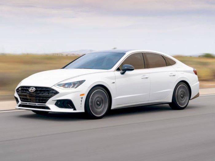Mobil Hyundai Sonata N-Line 2021 Diumumkan dengan Tampilan Racy!