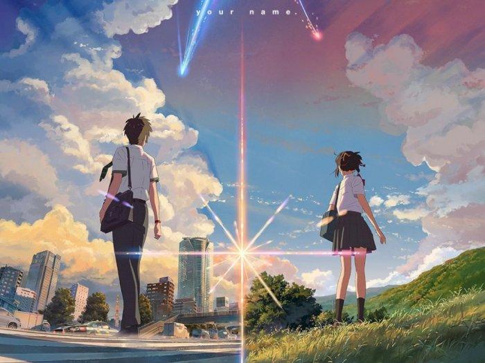 Keren! Anime 'Kimi no Na wa' Akan Diadaptasi ke Film Hollywood