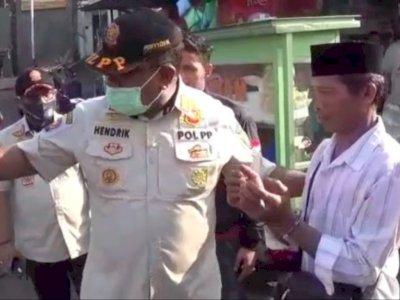 Heboh Warga Bogor Tak Pakai Masker Diborgol, Satpol PP: Hanya Bercanda