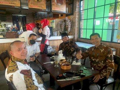 Hadi Pranoto-Muannas Ketemuan dan Makan Bareng di Resto, Islah?