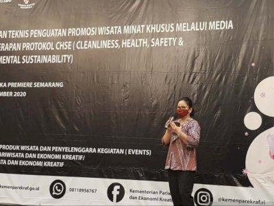 Kemenparekraf Latih Milenial Kenalkan Pariwisata Berprotokol Kesehatan di Jawa Tengah