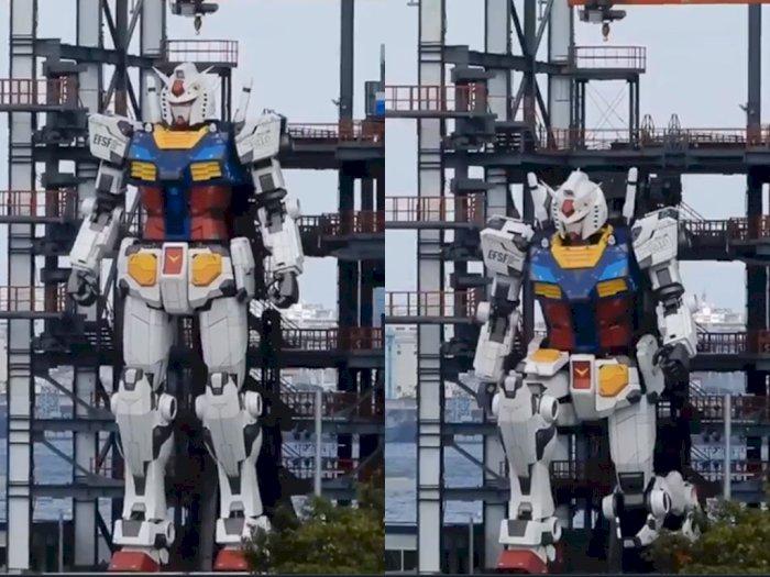 Sugoi! Replika Robot Gundam Raksasa ini Bisa Bergerak, Siap Dipamerkan Oktober Mendatang