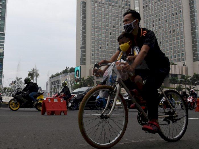 Kemenhub Serahkan Saksi Bersepeda ke Pemerintah Daerah