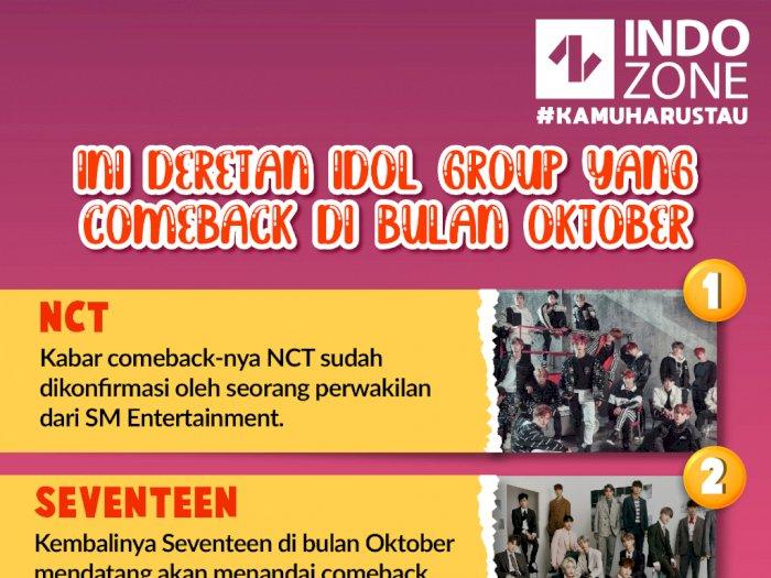 Ini Deretan Idol Group yang Comeback di Bulan Oktober