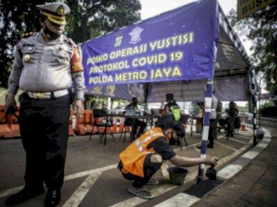 10 Hari Operasi Yustisi Jakarta: 188 Tempat Makan Disegel