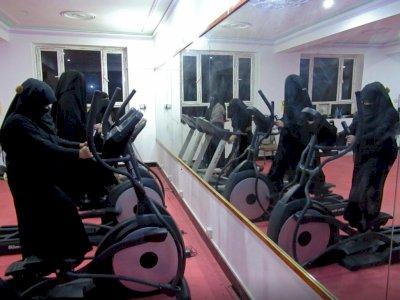 Afghanistan Hadirkan Gym Khusus Wanita Bercadar, Terbukti Berguna!