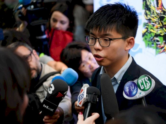 Joshua Wong, Pegiat Demokrasi Hong Kong Ditangkap Akibat Dianggap Langgar UU Anti-Masker