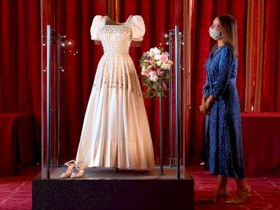 FOTO: Pameran Gaun Pengantin Putri Beatrice di Inggris