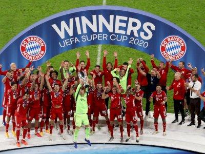 FOTO: Bayern Munchen Juara Piala Super Eropa Untuk Kedua Kalinya