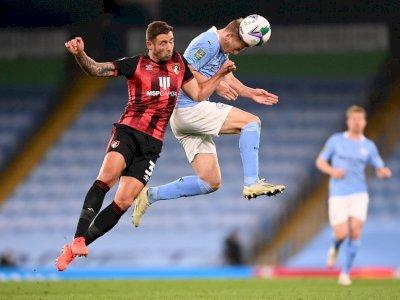FOTO: Carabao Cup: Manchester City Kalahkan Bournemouth 2-1