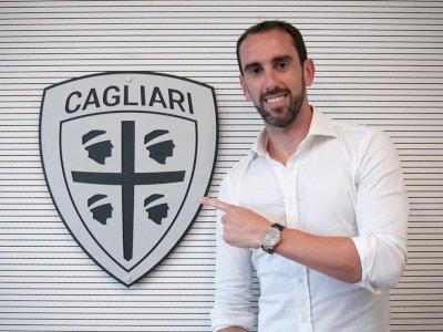 Bebas Transfer dari Inter, Diego Godin Gabung ke Cagliari