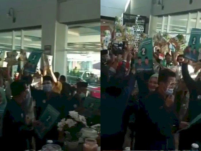 Viral Video Kerumunan Orang di Pengundian Nomor Pilkada, Netizen: Gak Ada yang Jaga Jarak
