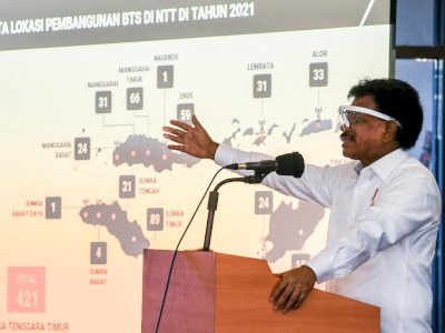FOTO: Rakor Percepatan Pembangunan Infrastruktur Telekomunikasi di NTT
