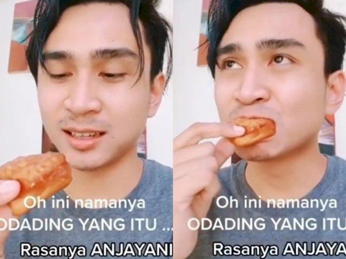 Viral Video Lutfi Agizal Cicipi Odading: Hmm Rasanya Anjayani