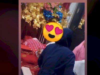 Pengantin Wanita Nangis Histeris di Hari Pernikahan, Pengantin Prianya Malah Pulang