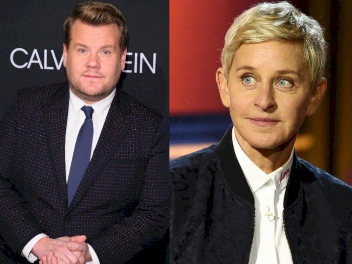 Dirumorkan akan Gantikan Ellen DeGeneres, Ini Jawaban James Corden