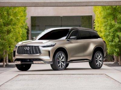 Infiniti Pamer Tampilan Mobil Monograph QX60 2021, Jadi SUV Next-Gen!